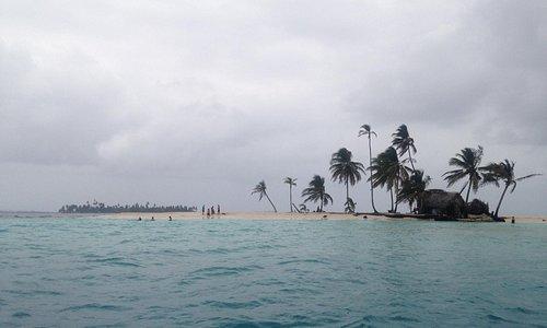 Llegando a Isla Pelicano