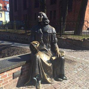 Ławeczka M. Kopernika