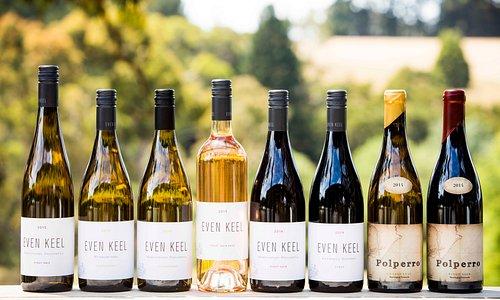Wines of the Polperro cellar door