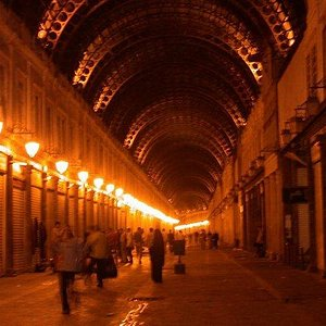Old Souk after dark...back when it was safe to walk though Damas at 1am.