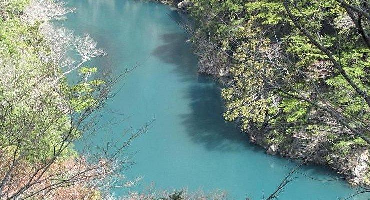 寸又峡も色が濃い