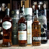 Whisky tasting selection