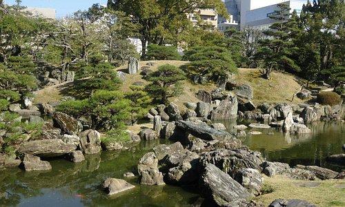 徳島城千秋閣庭園