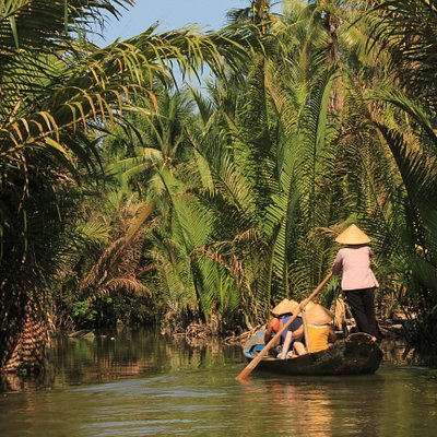 Ben Tre Natural Canal