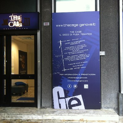 L'ingresso di The Cage - Escape Game