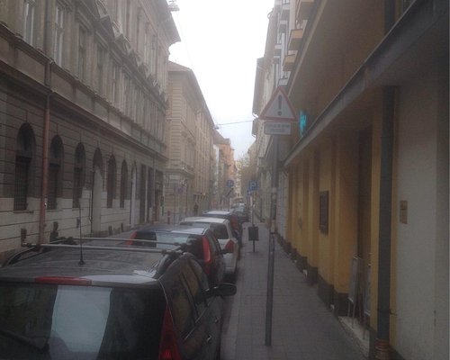 Two different street from jewish quarter