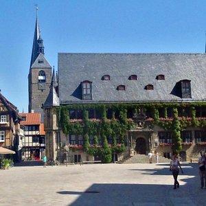rathaus in marktplatz