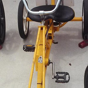 recumbent and not just for kids..