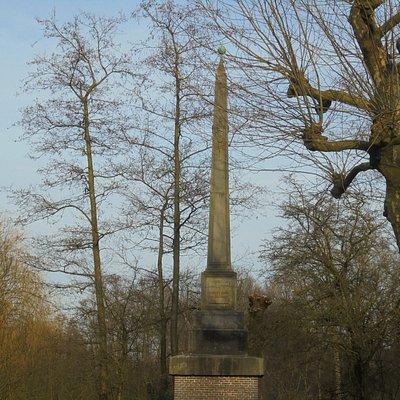 17de eeuwse banpaal gaf in 17de eeuw grens aan voor mensen die uit amsterdam verbannen waren