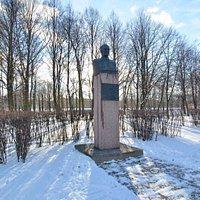Памятник-бюст Н.А. Пилюгину в Московском парке Победы, Санкт-Петербург