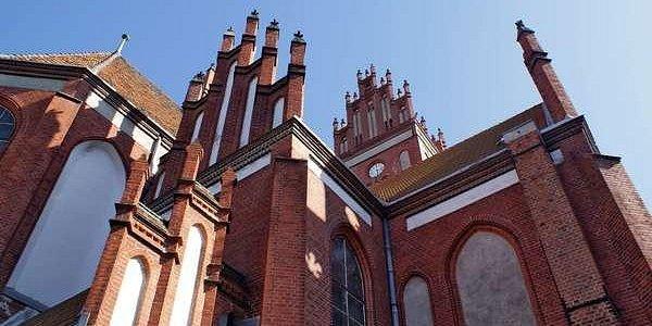 Kościół Piotra i Pawła. Poprzednia moja fotka jest z okolicy: kościół Jana Chrzciciela w Ornecie