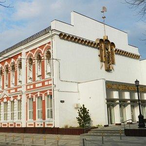 Молодежный театр на улице Седина в Краснодаре.