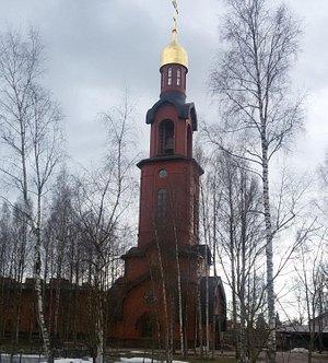 Храм-Колокольня в Токсово