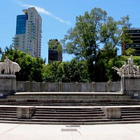 Monumento en Plaza Alemania