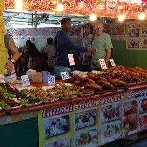Phuket night weekend market