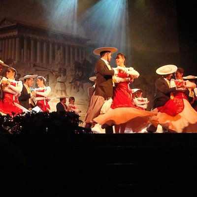 Ballo del gruppo di messicani