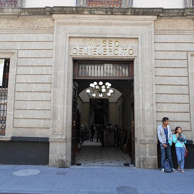 Entrance to the museum on Filomena Mata street. This building was once a military academy.