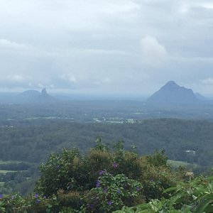 Great views over the Glasshouse Mountains