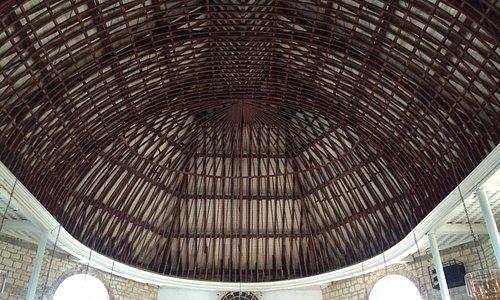 Parham Church roof