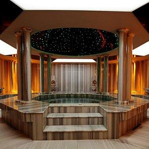 the COCO SPA turkish bath
