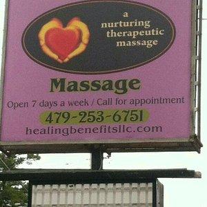 Healing Benefits Massage Therapy LLC.
