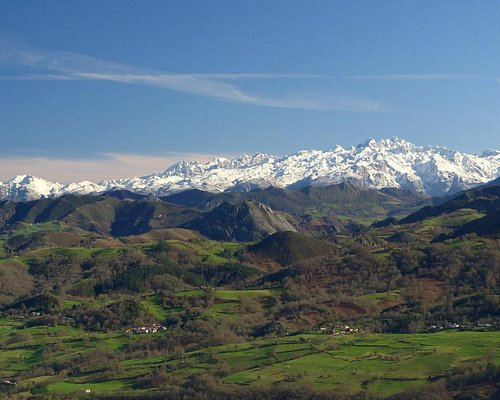 Área Recreativa Monte Cayón - Infiesto - Asturias