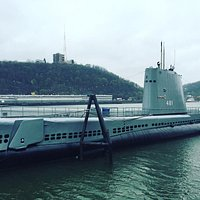 Totally fun place to visit an actual retired Cold War submarine restored to how it might have lo