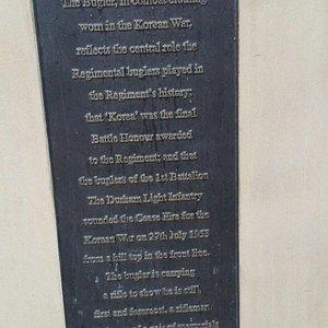 Durham Light Infantry statue