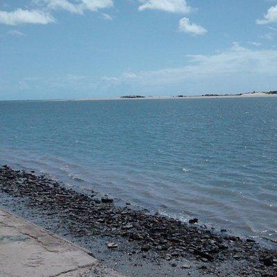 Bela vista da praia!