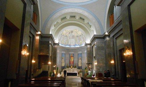 Interno della chiesa di San Giorgio al Corso