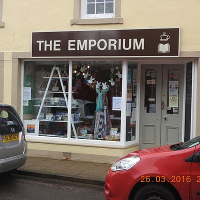 The Emporium Bookshop in the High Street in Cromarty