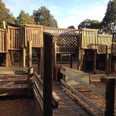 One of the better playgrounds you'll see in Melbourne