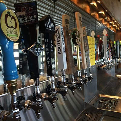 24 taps of local craft beers and ciders!