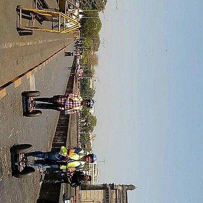 Segways at Gateway of India