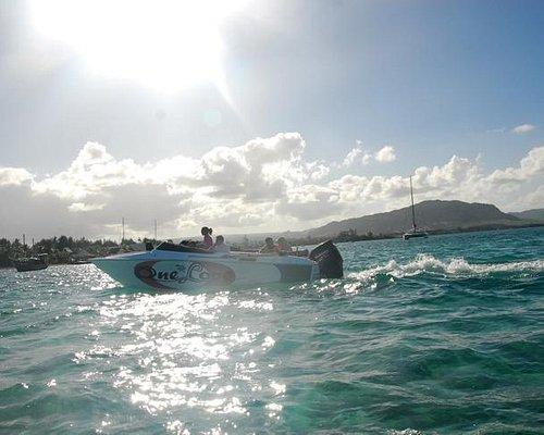 journée speed boat avec One love