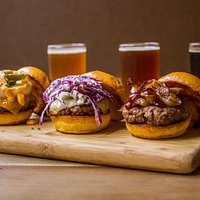 Sliders and Beer Flights