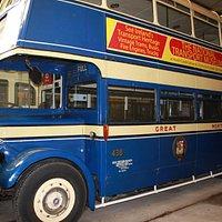 один из хорошо сохранившихся автобусов