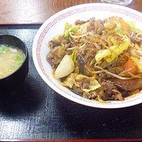 いのしし焼肉丼¥700