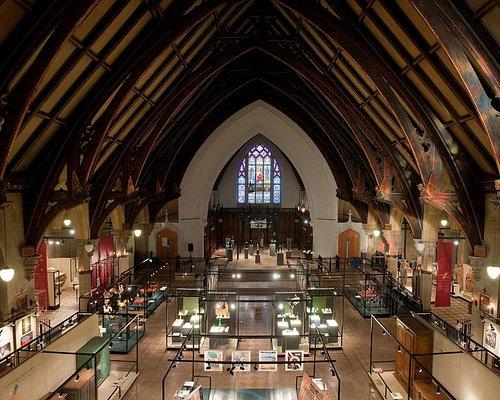 Vue du musée depuis le balcon des orgues