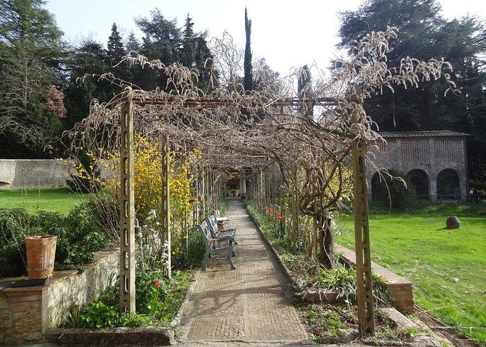 The monastery's garden (not normally open to the public)