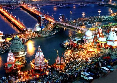 Haridwar is an ancient city and important Hindu pilgrimage site in North India's Uttarakhand sta