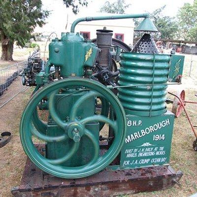 """The unique """"Marlborough Engine"""""""