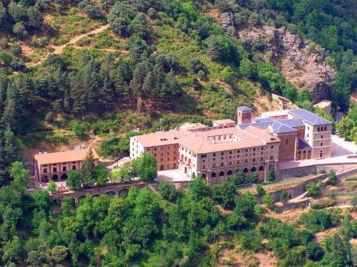 Vista panorámica del Monasterio
