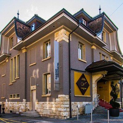 Le célèbre bâtiment centenaire de la Rotonde