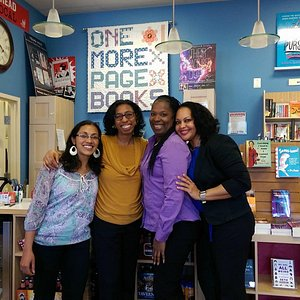 The Book Divas on one of their tour stops