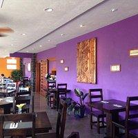 Bright interiors, good looking wait staff, fresh atmosphere