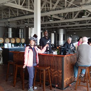 Riggers Loft is a working winery.