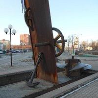 Знаки строителей и моряков канала