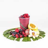 Pele's Passion, real fruit smoothie
