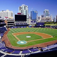 Petco park from the bleechers